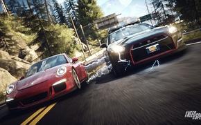 Picture 911, Porsche, GTR, Nissan, Need for Speed, nfs, 2013, Rivals, NFSR, NSF