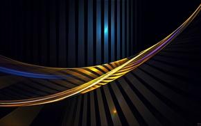 Picture color, line, strip, Shine