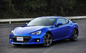 Picture car, auto, blue, car, subaru, Subaru brz