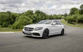 Picture Mercedes Benz, AMG, C63, 2015