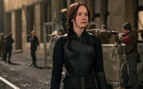 Picture Jennifer Lawrence, Katniss Everdeen, The hunger games:mockingjay, The Hunger Games:Mockingjay - Part-2