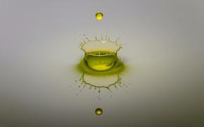 Picture water, squirt, drop, splash, liquid
