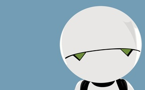 Picture robot, Android, Marvin, GPP prototype, The Hitchhiker's Guide to the Galaxy, Marvin, paranoid, Hitchhiker's guide …