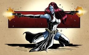 Picture art, X-Men, art, marvel, comics, marvel, mystic, mystic