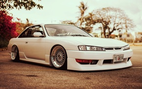 Gentil ... Picture Flowers, S14, Nissan, Sylvia, White, Silvia, Nissan, Tuning ...