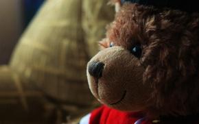 Picture children, Wallpaper, toy, bear, bear, child, teddy bear, english
