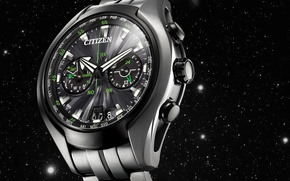 Picture metal, design, watches, citizen