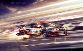 Picture auto, sport, cars, Mitsubishi, cars, lancer, evolution, auto wallpapers, car Wallpaper, Lancer, auto photo, DTM, …