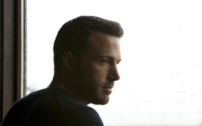 Picture glass, drops, actor, Ben Affleck, To the Wonder, The miracle, Ben Affleck