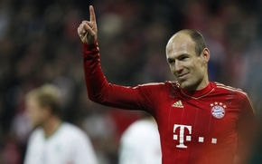 Picture Bayern, player, Robben, Football, Champions League, Netherlands, Goal, Bayern Munich, Arjen Robben, Robben