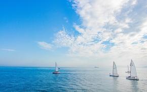 Picture sport, yachts, regatta