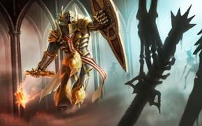Picture Diablo 3, art, Reaper of Souls, Crusader