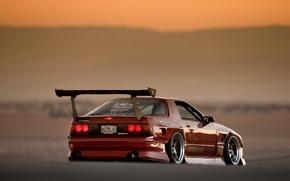 Picture Mazda, Drift, RX-7, JDM, cramps, FC3S