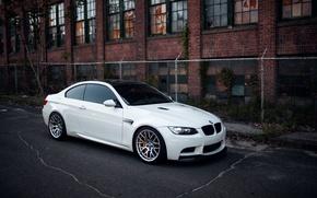 Picture bmw, BMW, white, e92