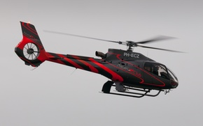 Picture flight, helicopter, Eurocopter, single-engine, easy, EC130
