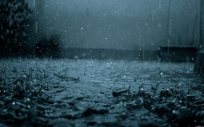 Picture drops, rain, mood