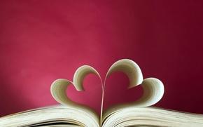 Picture love, heart, book, love, heart, book