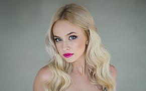 Picture look, face, model, makeup, Ekaterina