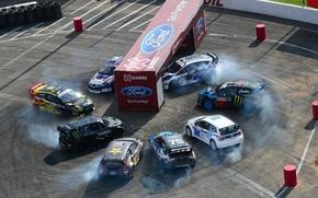Picture Ford, Mini, Subaru, Volkswagen, Race, Monster, Driver, Ken Block, Rally, Fiesta, Polo, X Games, Impreza …