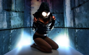 Picture Girl, The game, Cosplay, Gas Mask