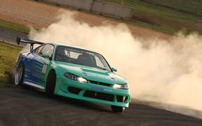 Wallpaper auto, Drift, Silvia