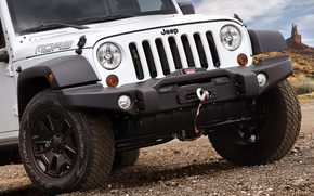 Picture White, Wheel, Lights, Sahara, Wrangler, Jeep, The front