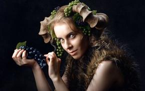 Picture girl, emotion, Lena Korovashkina, Сraftiness