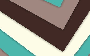 Picture Design, Lollipop, 5.0, Angles, Line, Stripes, Abstraction, White, Android, Turquoise, Material