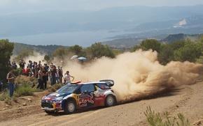 Picture Auto, Dust, Sport, Race, Citroen, Citroen, DS3, WRC, Rally, Rally, Fans