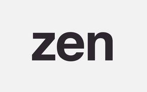Picture letters, the inscription, Zen, Zeng