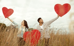 Picture love, happiness, heart, pair, love, happy, heart, people, romantic, couple