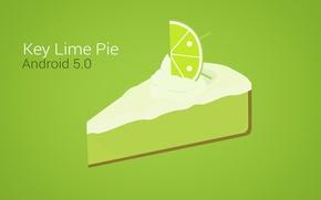Wallpaper lemon, figure, vector, slice, cake, lime, android