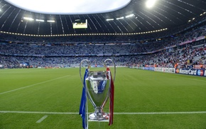 Picture STADIUM, STADIUM, CHELSEA, FINAL CHAMPIONS LEAGUE 2012, CHAMPIONS LEAGUE, ALLIANZ ARENA, BAYERN-CHELSEA, BAYERN MUNCHEN