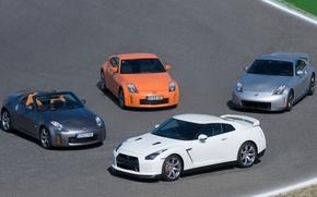 Picture Nissan 350Z, R35, Nissan 370Z, Nissan GTR
