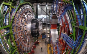 Picture Collider, WIRE, GENERATOR, SIZE, INDUSTRY, INSTALLATION, ACCELERATOR, WORKING