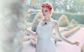 Picture makeup, decoration, hairstyle, Anaïs Popy