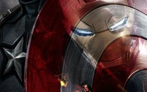 Picture The film, Iron Man, Captain America, Captain America: Civil War, The first avenger: the Confrontation