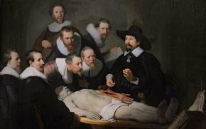 Picture picture, Dr., Anatomy, Tulpa, Rembrandt