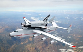 Wallpaper Buran, Mriya, The an-225