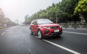 Picture car, wallpaper, Land Rover, Range Rover, road, auto, speed, Evoque, HSE Dynamic