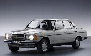 Picture background, lights, silver, Mercedes, Mercedes, Mercedec-Benz