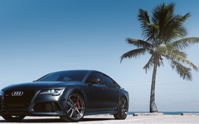 Picture Palma, Audi, Audi, front, parking, RS7