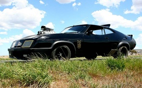 Picture Auto, Ford, Car, Car, Auto, Mad Max, Supercharger, Mad Max, V8, Ford Falcon XB GT …