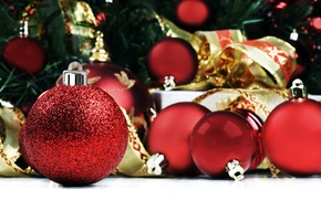 Wallpaper balls, gifts, holiday, picture, Wallpaper, Christmas decorations, new year, mood, photo