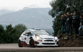 Picture Ford, Rally, Rally, Fiesta, ERC