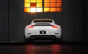 Picture Porsche, Porsche, Coupe, Carrera, rear, Edition, 991, V-GT