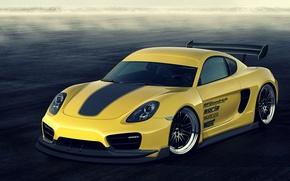 Picture Porsche, Cayman, tuning, hero, avto