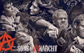 Picture gun, weapon, tatoo, M16, Charlie Hunnam, Sons of Anarchy, SOA, SAMCRO, tv series, Ron Perlman, …