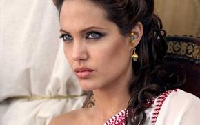 Wallpaper Angelina Jolie, Pretty, Angelina