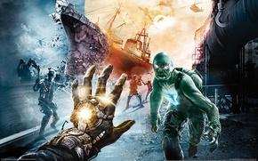 Picture weapons, mutants, singularity, Singularity